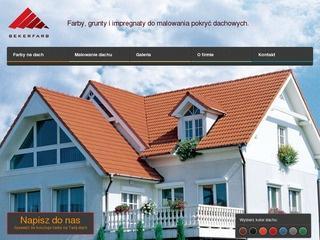Odśwież pokrycie domu poprzez specjalne farby dachowe
