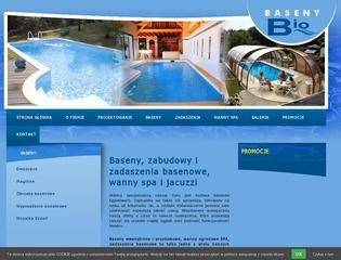 Firma zajmująca się wyposażeniem basenów
