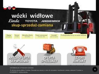 Firma oferująca wózki widłowe elektryczne