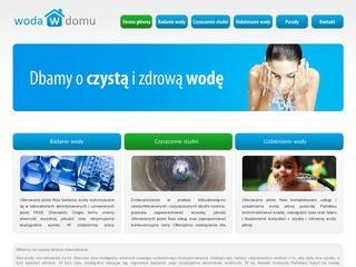 Regeneracja studni, uzdatnianie wody pitnej - Bielsko